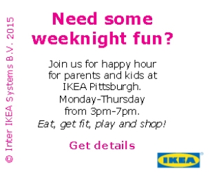 Family Happy Hour At IKEA Pittsburgh