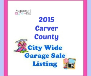 2015 City Wide Garage Sales in Carver County
