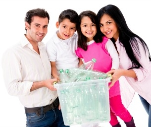 """Easy Ways for Your Family to """"Go Green"""""""