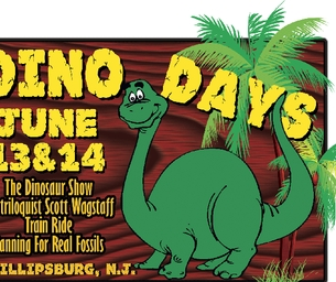 The Delaware River Railroad Dino Days June 13 & 14, 2015: Giveaway
