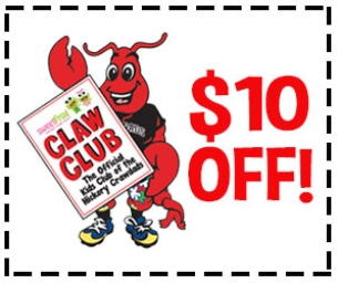 GIVEAWAY ~ Hickory Crawdads Sweet Frog Claw Club