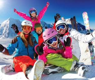 Family Ski, Ride and Play ~ Mountain Family Fun Guide