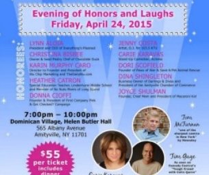 HONOR THE TOP 10 FASCINATING WOMEN ON LONG ISLAND!