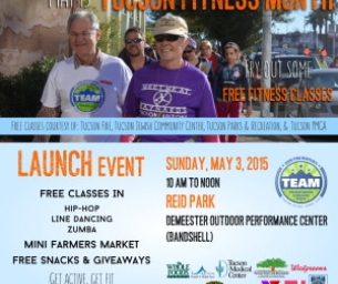 May is Tucson Fitness Month: Try FREE Fitness Classes!
