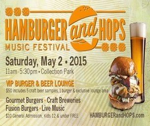 WIN HAMBURGER & HOPS TICKETS FOR YOUR FAMILY