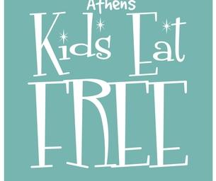 Athens Kids Eat Free!