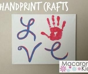 LoVe {Handprint Craft}