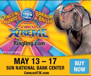 The Greatest Show on Earth,Coming to Sun National Bank CenterMay 13-17