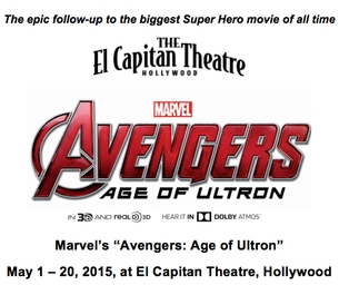"Marvel's ""Avengers: Age of Ultron"" at El Capitan Theatre"