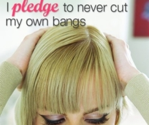 Pledge To Never Cut Your Own Bangs Again Moms