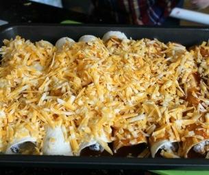 Dinner Is Ready! Easy Enchiladas
