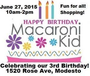 Come Celebrate our 3rd Birthday with us!