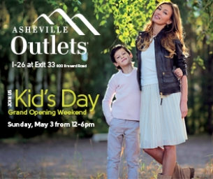 Asheville Outlet Mall Grand Opening - Kid's Day on Sunday