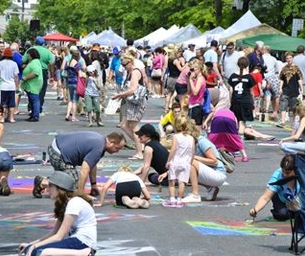 19th Annual Community Mosaic Street Painting Festival: May 24