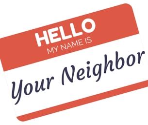 Welcoming the New Neighbors