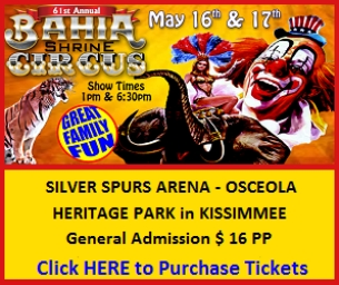 ENTER TO WIN: 4 Tickets to the Bahia Shriners Circus!