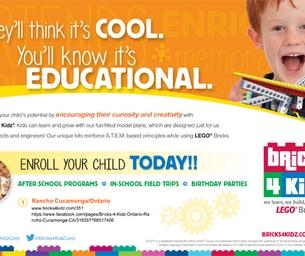 Bricks 4 Kidz: Where Children Learn, Build and Play!