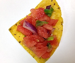 Watermelon Salsa - Sweet, Spicy and DELICIOUS!
