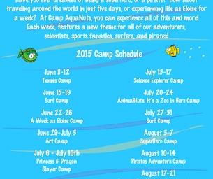 Summer Camp at AquaNuts