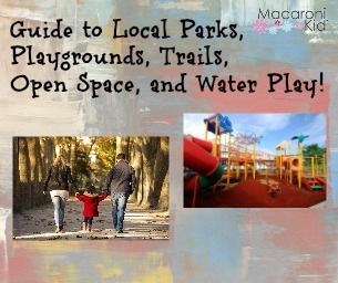 Guide to Local Parks, Playgrounds, Trails, Open Space, and Water Play!