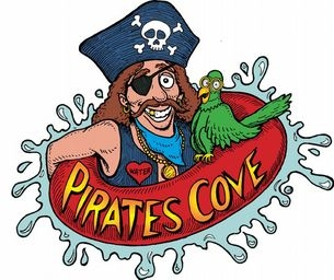 Pirates Cove Opens Monday, May 25th! Buy One, Get One 50% Off!