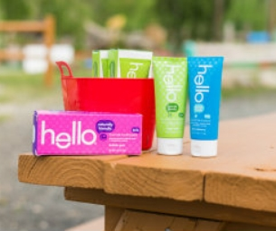 Beat Brushing Boredom this Summer with Hello Products