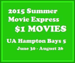 2015 Summer Movie Express $1 Movies!