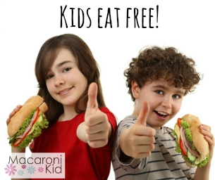 Winter/Spring 2015 Kids Eat Free in the PBG -Jupiter Area!