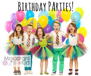 Birthday Parties in Palm Beach Gardens, Jupiter, Tequesta & North Palm