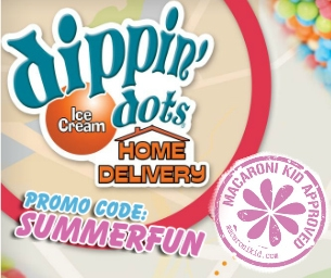 Dippin' Dots Home Delivery: A Macaroni Kid Review