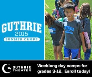 2015 Guthrie Summer Camps for Grades 3 to 12 Now on Sale