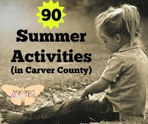 Summer List of 90 things in Carver County, MN
