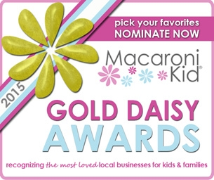 2015 Macaroni Kid Gold Daisy Awards - NOMINATE NOW!