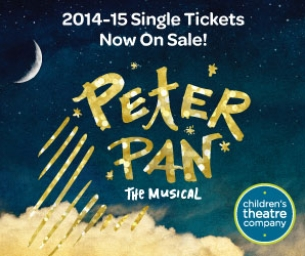 Peter Pan the Musical April 21 through June 21, 2015