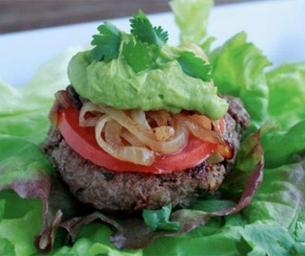 Lean Seasoned Burger