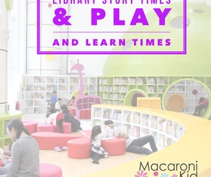 Library Story Times & Play and Learn Times