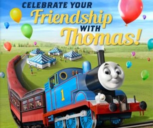 **Giveaway!** 4 Tickets to Day Out With Thomas