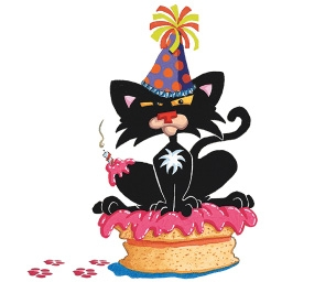 Happy Birthday Bad Kitty!