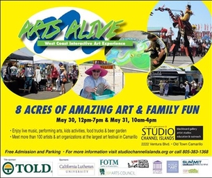 JOIN THE ART FUN THIS WEEKEND AT ARTS ALIVE
