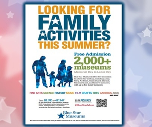 MILITARY FAMILIES ENJOY FREE MUSEUMS THRU LABOR DAY