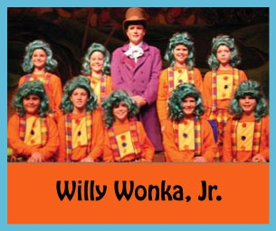 Willy Wonka Jr. Showing at the McAlpin Fine Arts Center