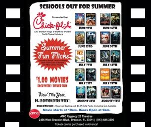 Chick-fil-A AMC Summer Fun Flicks