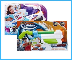 Summer Fun Product Review: Hasbro NERF Water Blasters