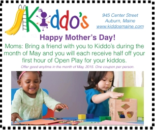 May is 'Mother's Month' at Kiddo's