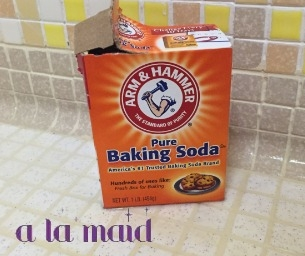 HOW TO REMOVE SOAP SCUM BUILD UP