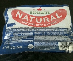 """Applegate Hot Dogs: """"What's In Your Hot Dog?"""""""