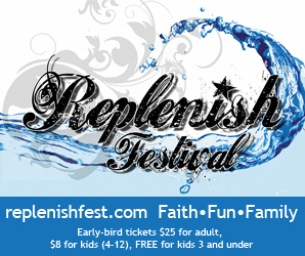 Replenish Festival: Faith Based Musical Festival This July