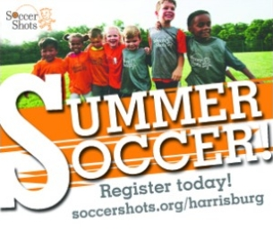 Summer Soccer for ages 2-7