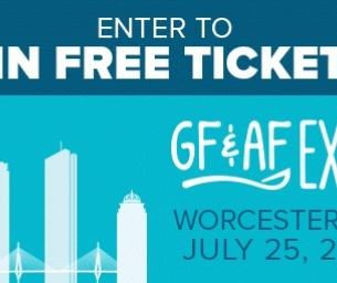 Win tickets to the Gluten Free Allergen Friendly Expo in Worcester