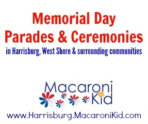 Memorial Day Ceremonies & Parades in Harrisburg & West Shore